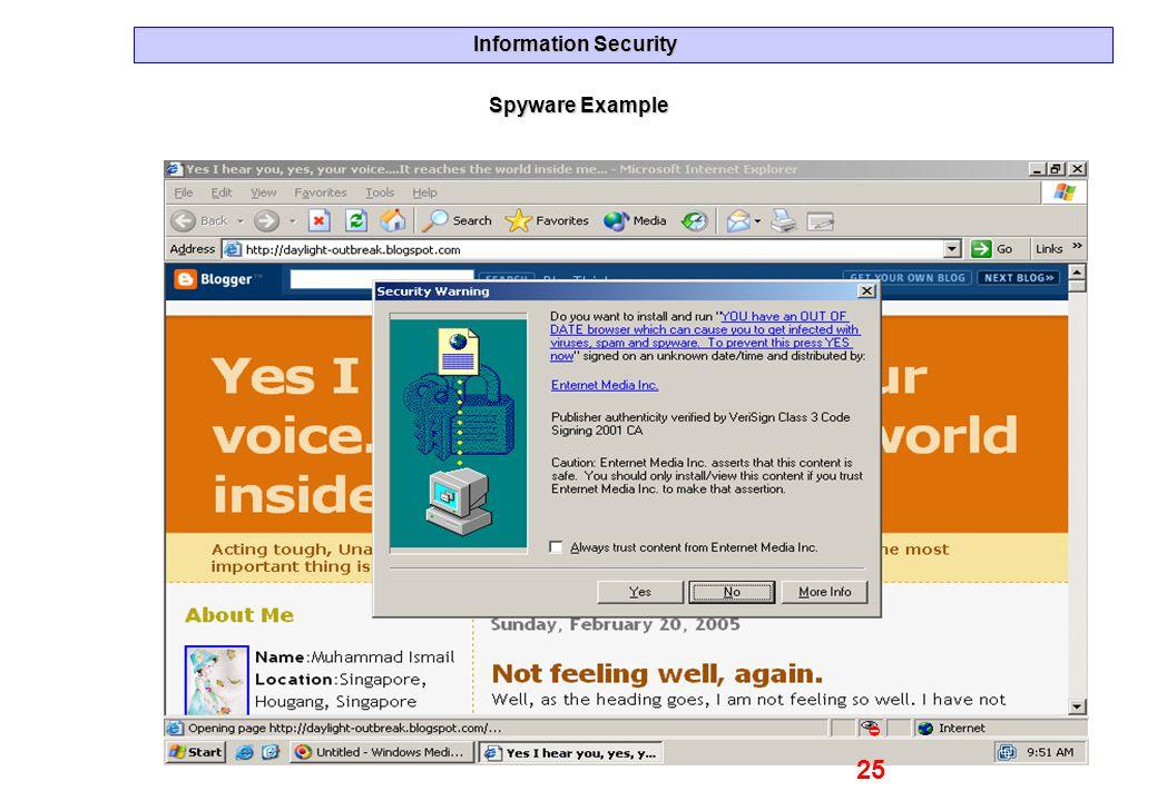 Spyware Example 25
