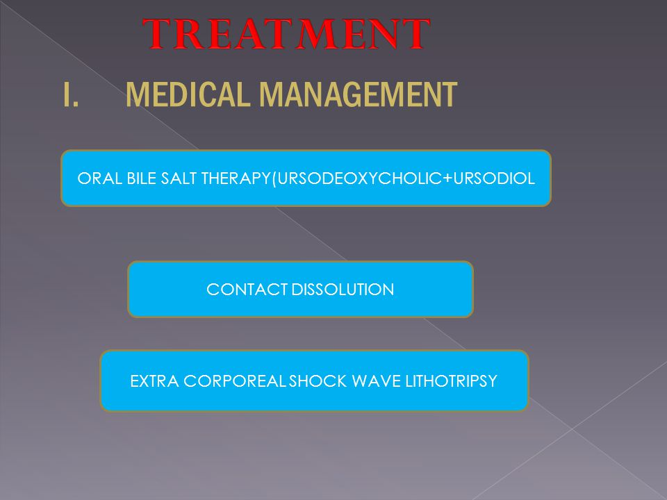 MEDICAL MANAGEMENT TREATMENT