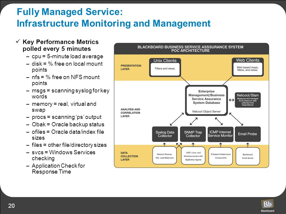 Fully Managed Service: Infrastructure Monitoring and Management