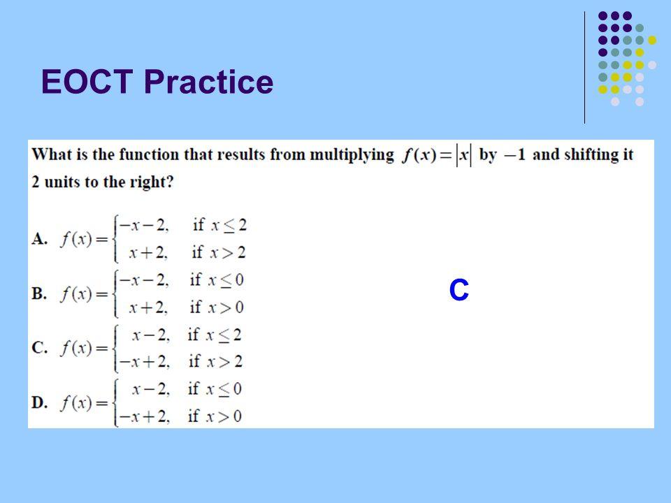 EOCT Practice C
