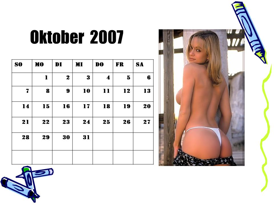 Oktober 2007 So Mo Di Mi Do Fr Sa 1 2 3 4 5 6 7 8 9 10 11 12 13 14 15
