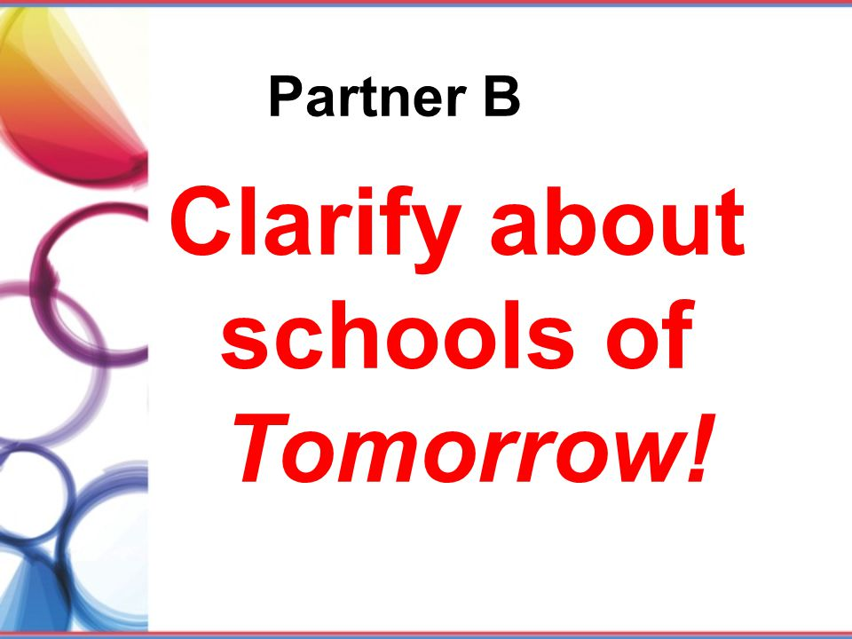 Clarify about schools of Tomorrow!