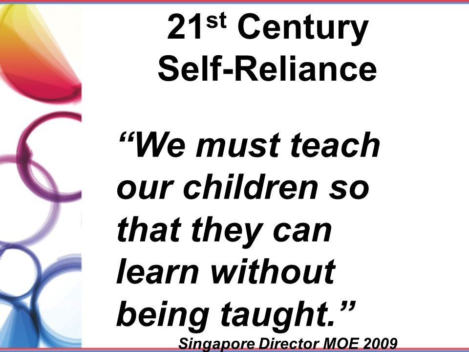 21st Century Self-Reliance
