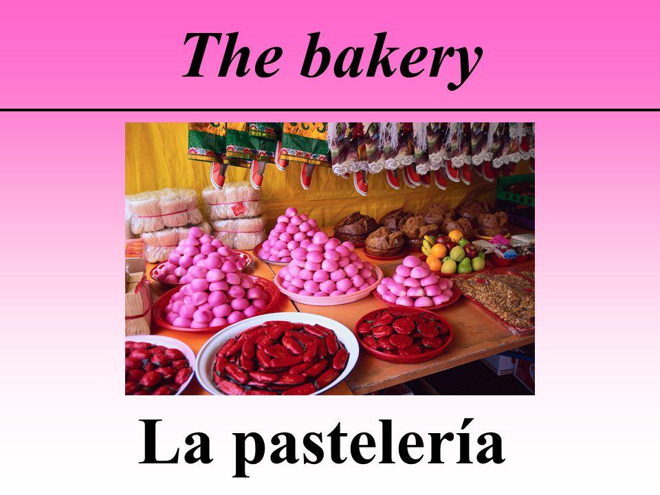 The bakery La pastelería