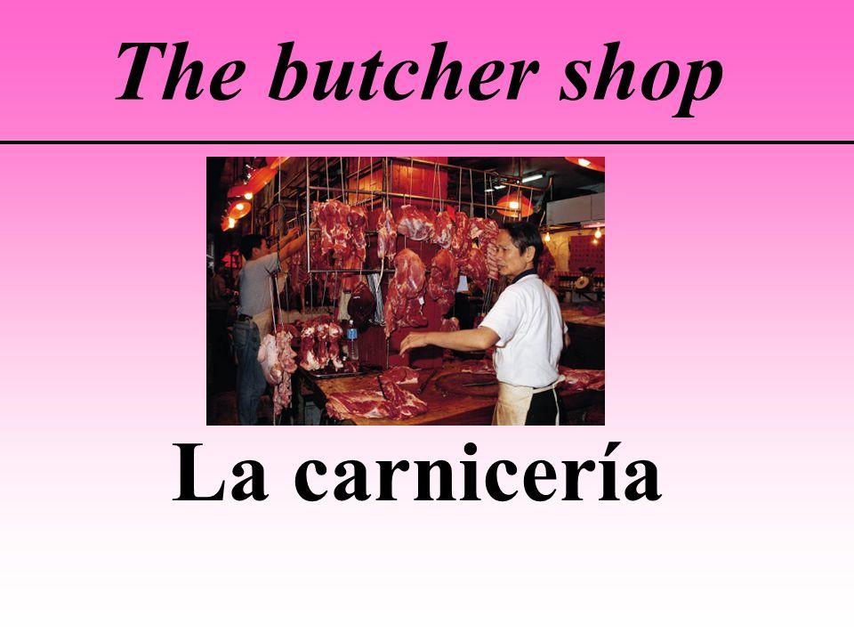The butcher shop La carnicería