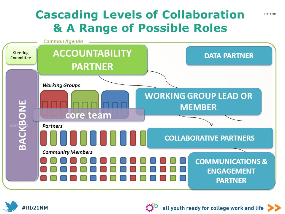 Cascading Levels of Collaboration & A Range of Possible Roles