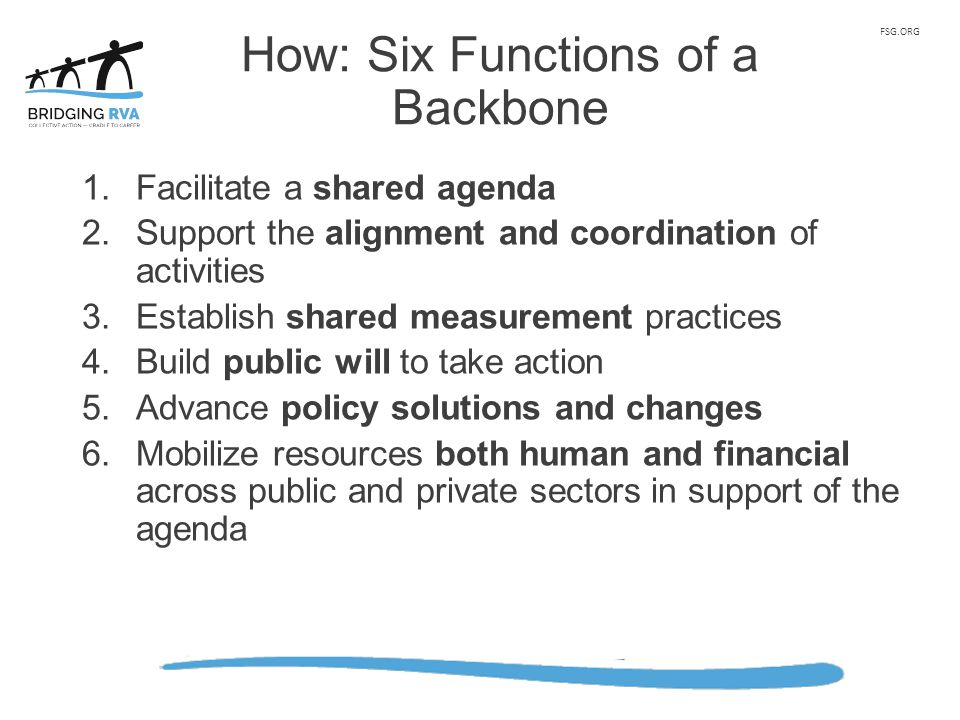 How: Six Functions of a Backbone
