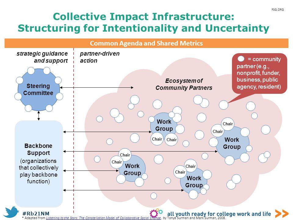 Common Agenda and Shared Metrics Ecosystem of Community Partners