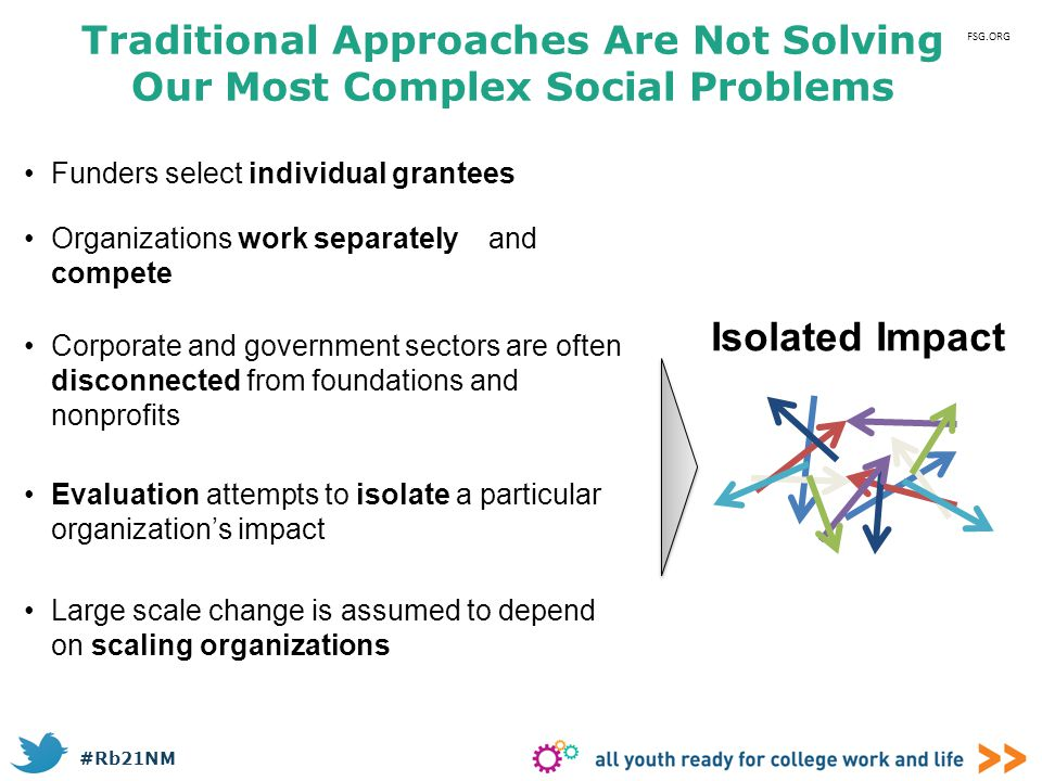 Traditional Approaches Are Not Solving Our Most Complex Social Problems