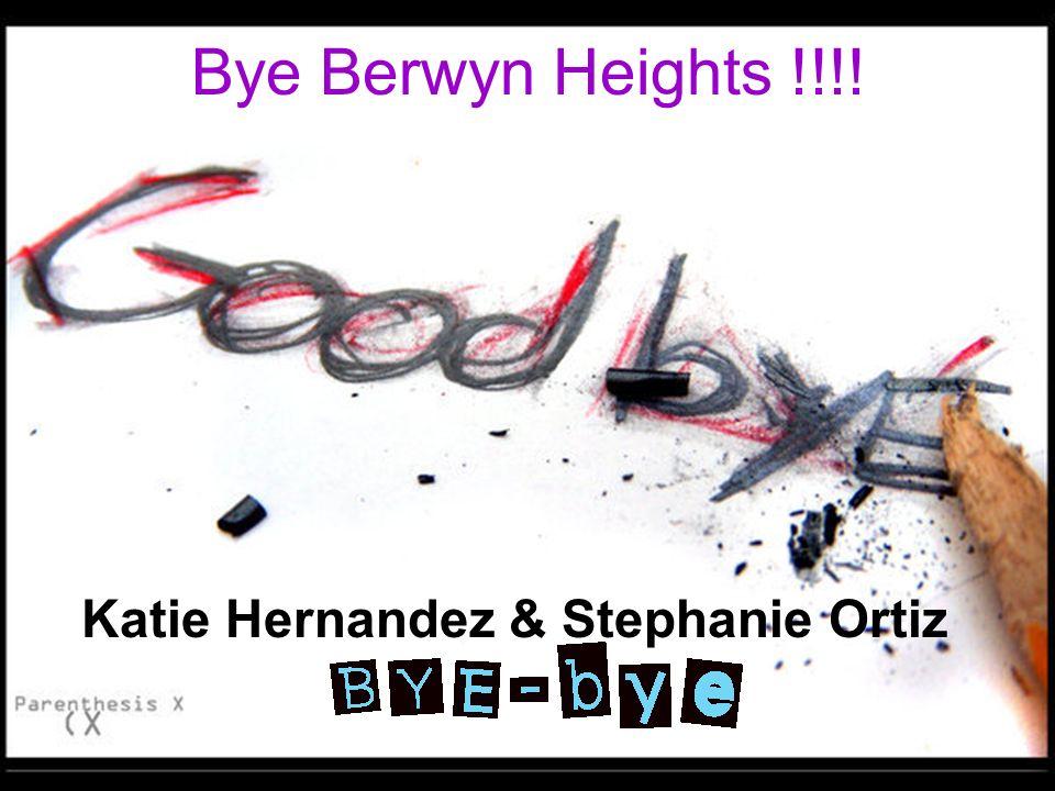 Katie Hernandez & Stephanie Ortiz