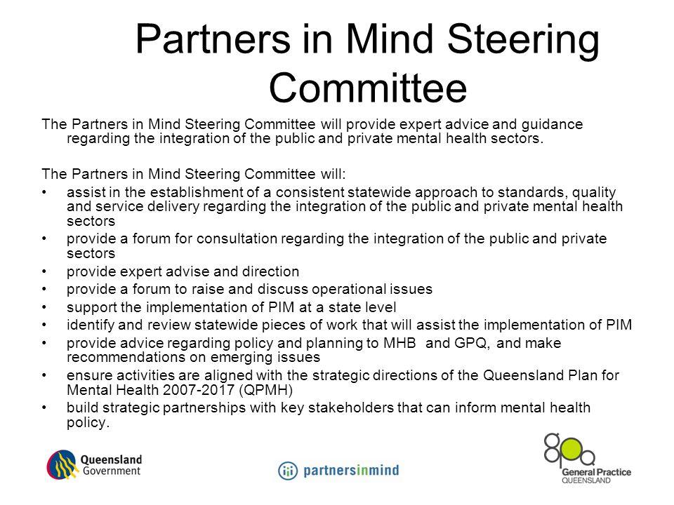 Partners in Mind Steering Committee