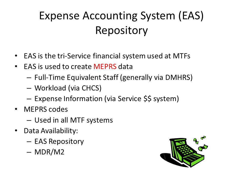 Expense Accounting System (EAS) Repository