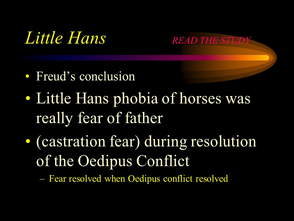 Little Hans READ THE STUDY