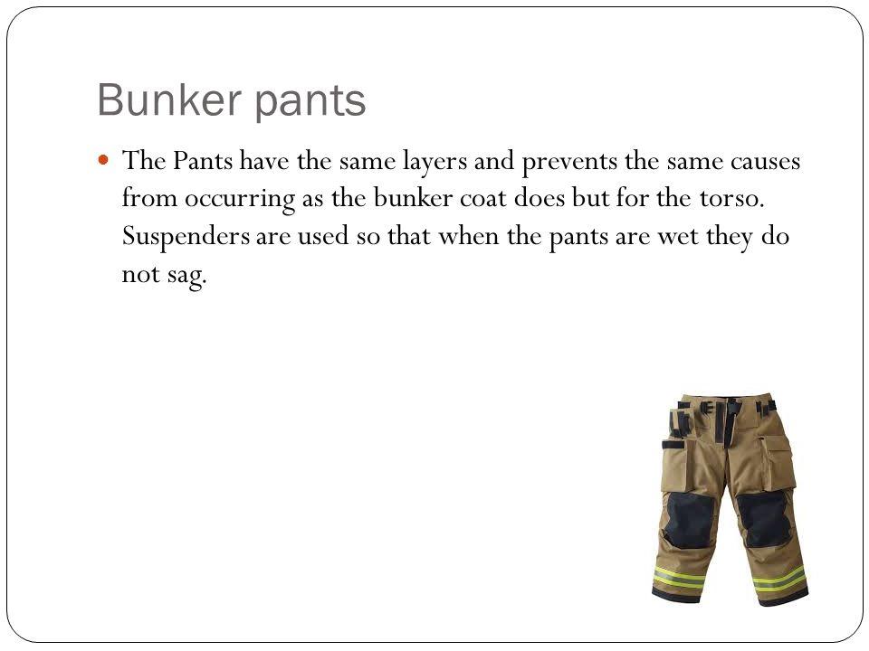 Bunker pants