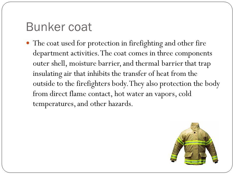 Bunker coat