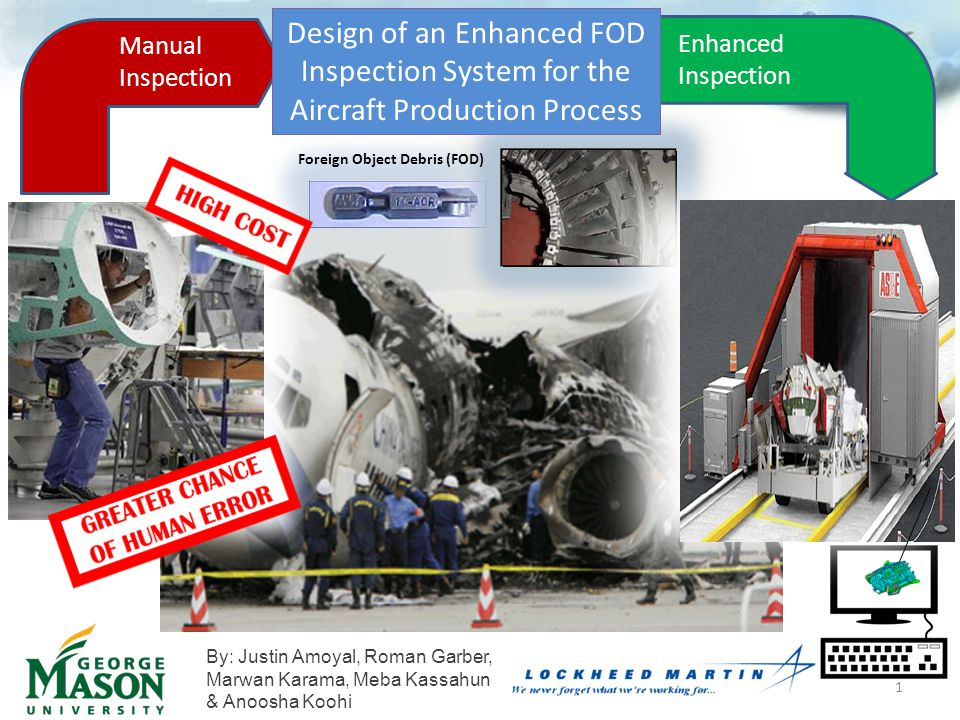 Design of an Enhanced FOD Inspection System for the Aircraft Production Process