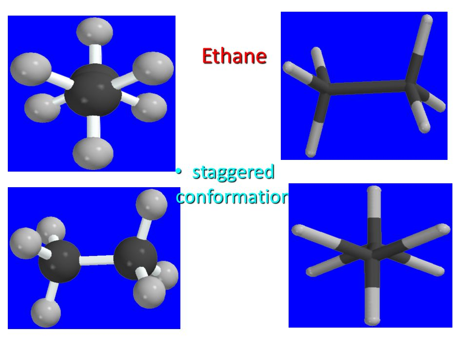 staggered conformation