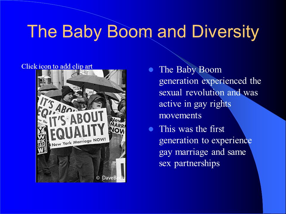 The Baby Boom and Diversity