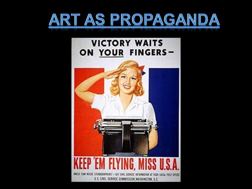 Art as Propaganda