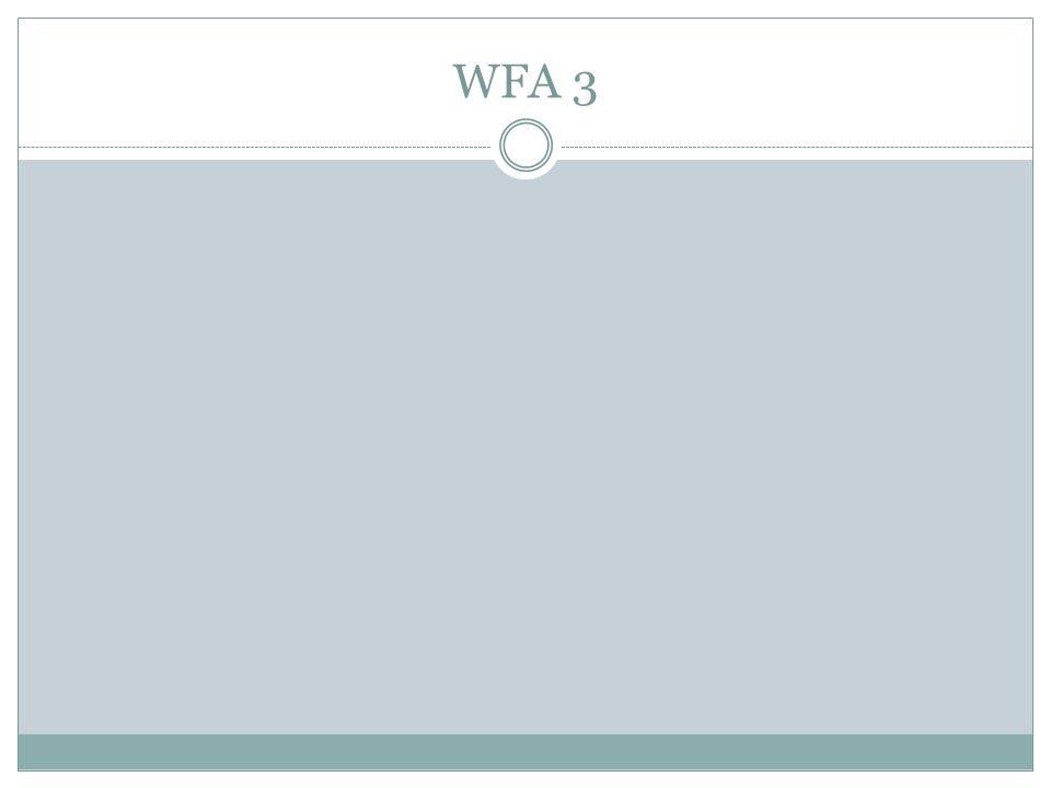 WFA 3
