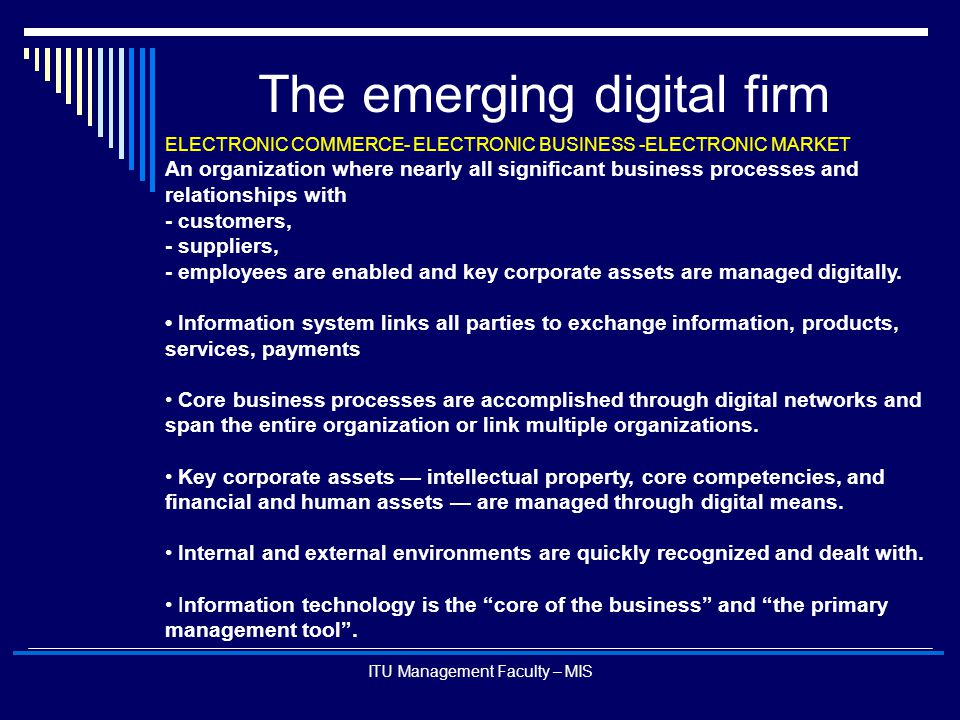 The emerging digital firm