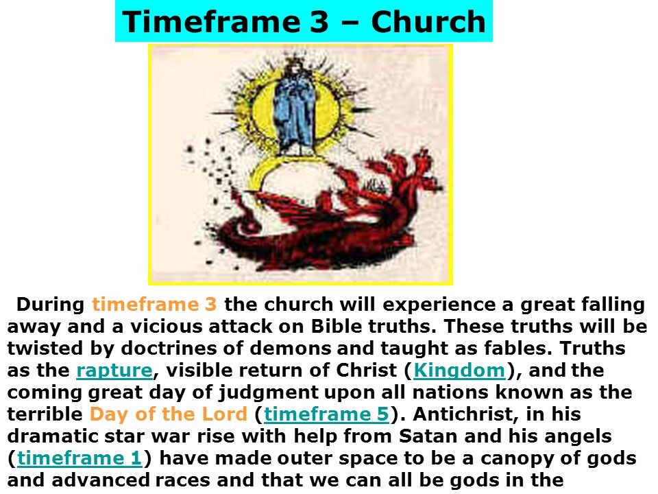 Timeframe 3 – Church