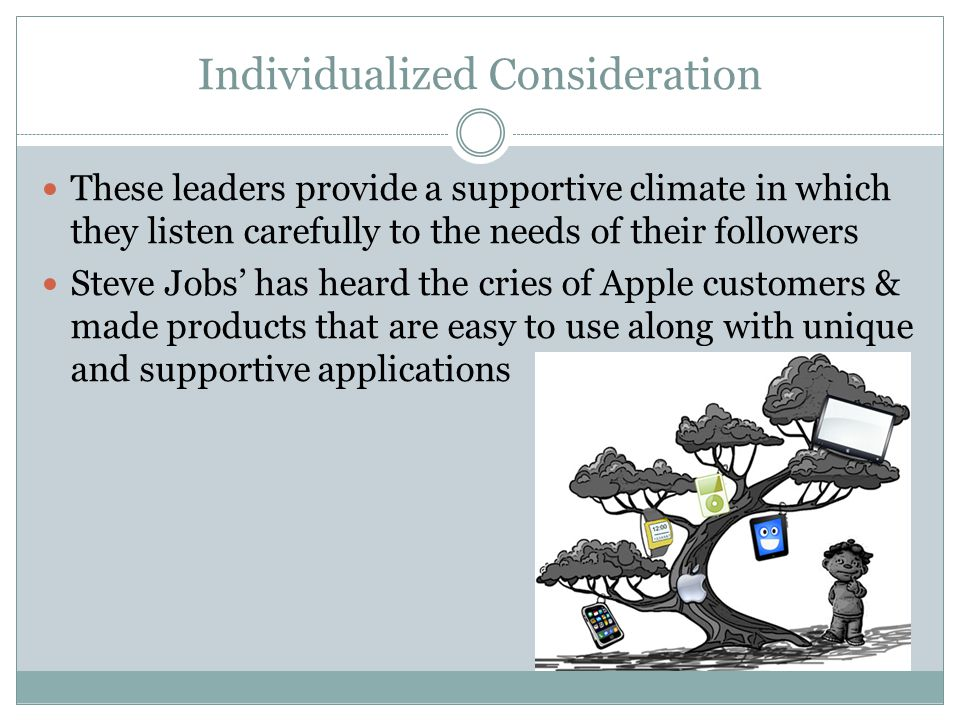 Individualized Consideration