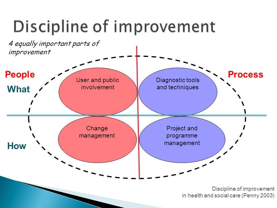 Discipline of improvement