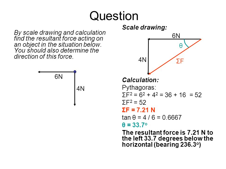 Question Scale drawing:
