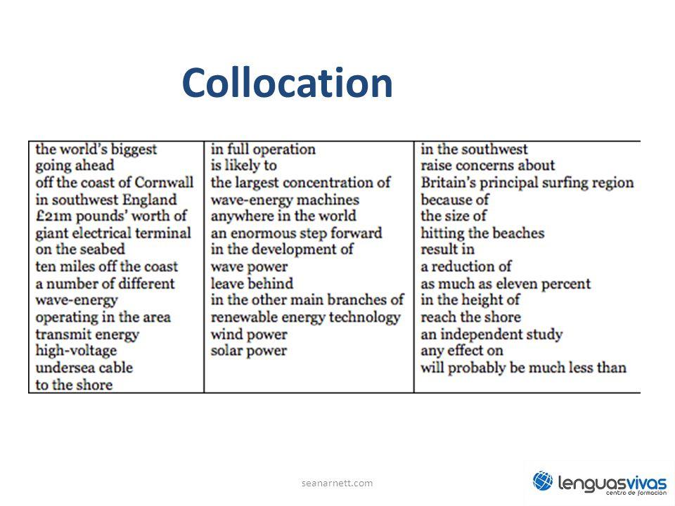 Collocation seanarnett.com