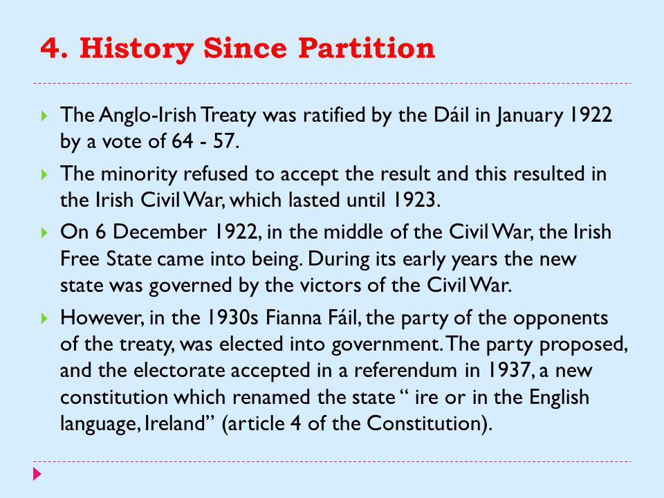 4. History Since Partition