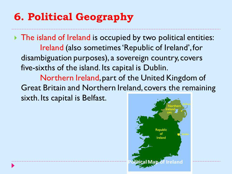 6. Political Geography