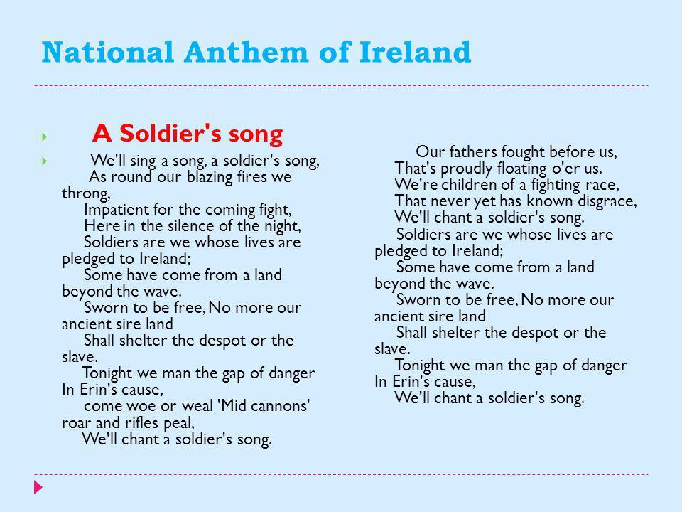 National Anthem of Ireland