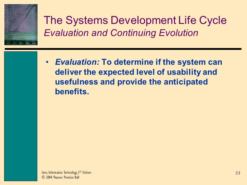 The Systems Development Life Cycle Evaluation and Continuing Evolution