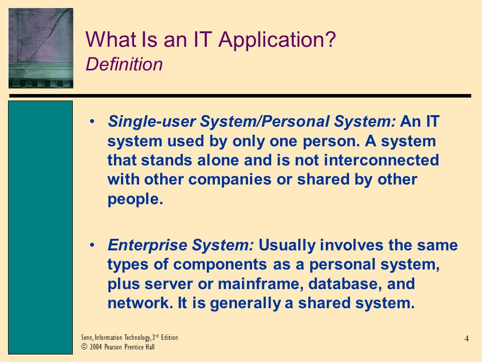 What Is an IT Application Definition