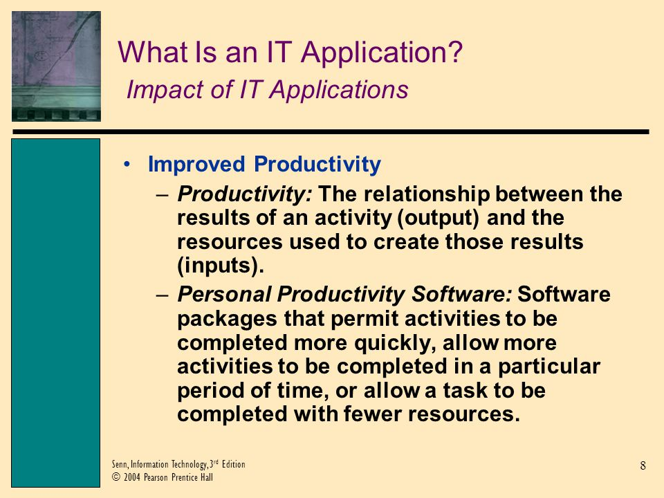 What Is an IT Application Impact of IT Applications