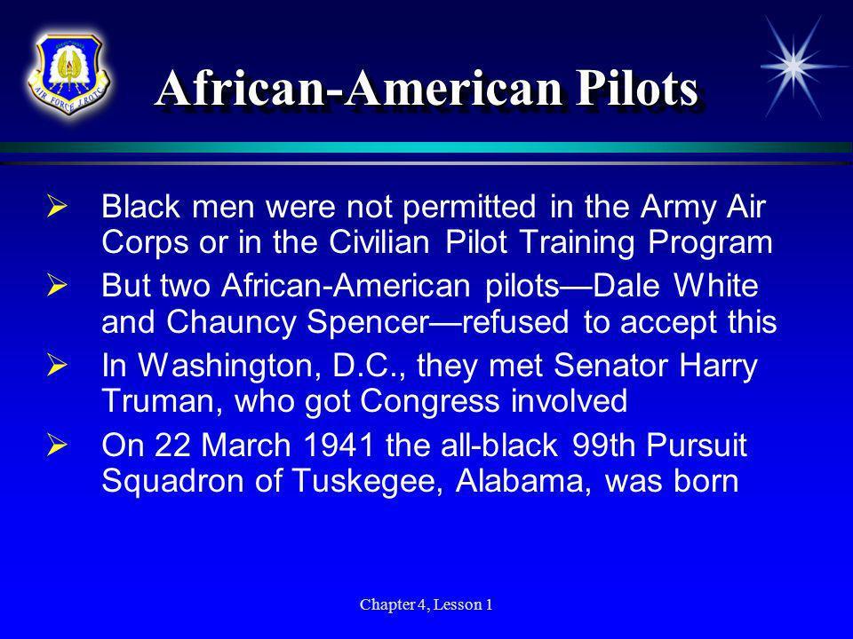 African-American Pilots
