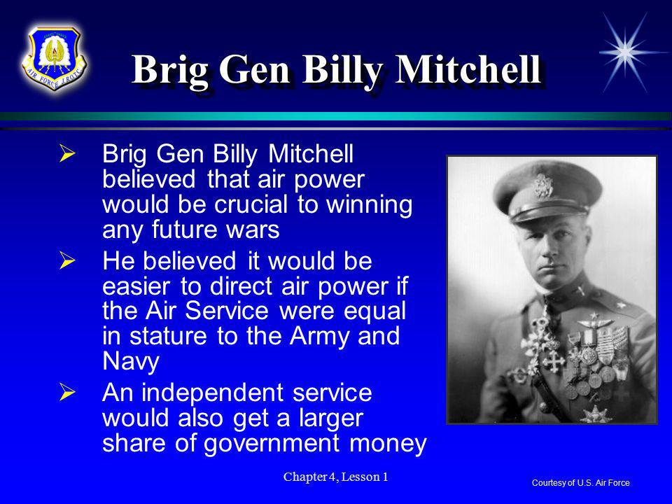 Brig Gen Billy Mitchell