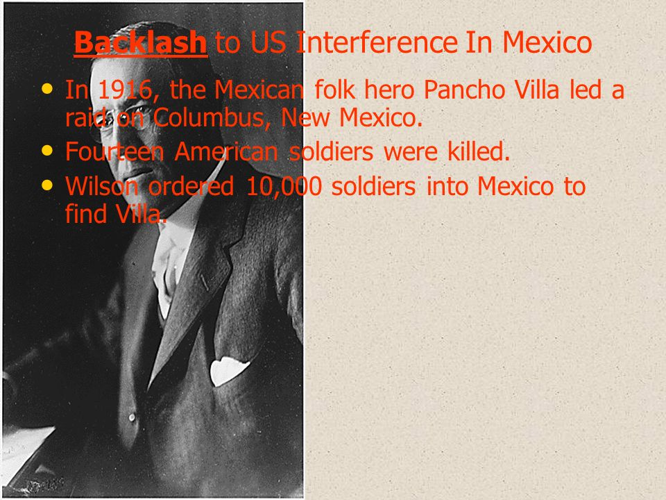 Backlash to US Interference In Mexico
