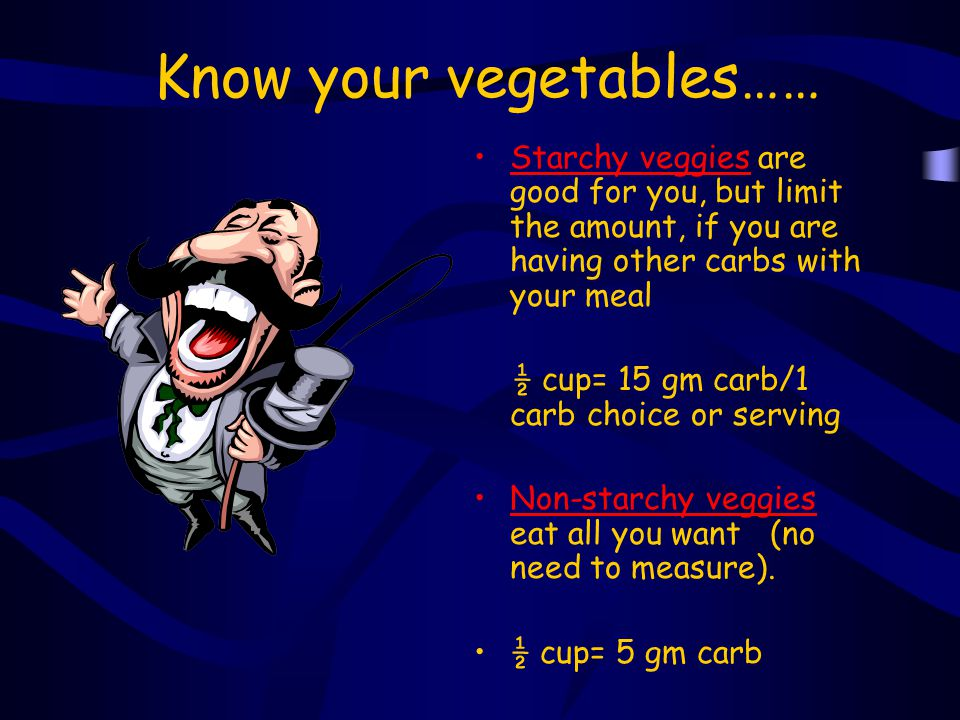 Know your vegetables……