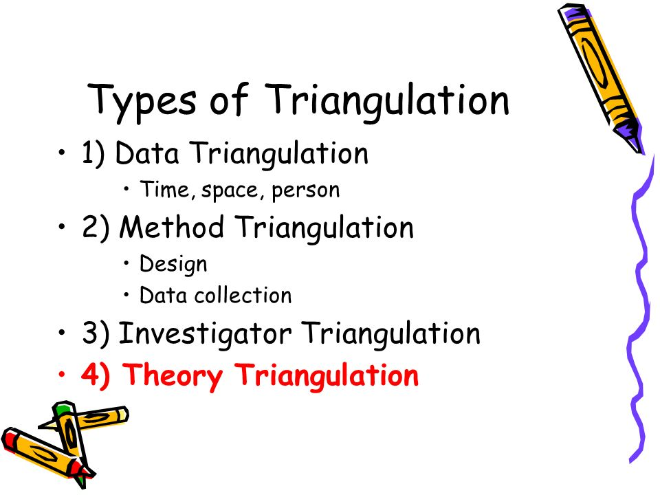 Types of Triangulation