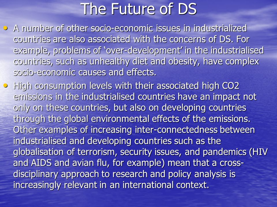 The Future of DS