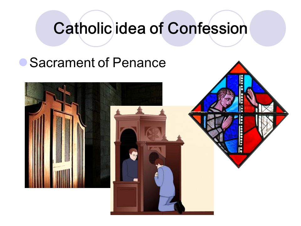 Catholic idea of Confession