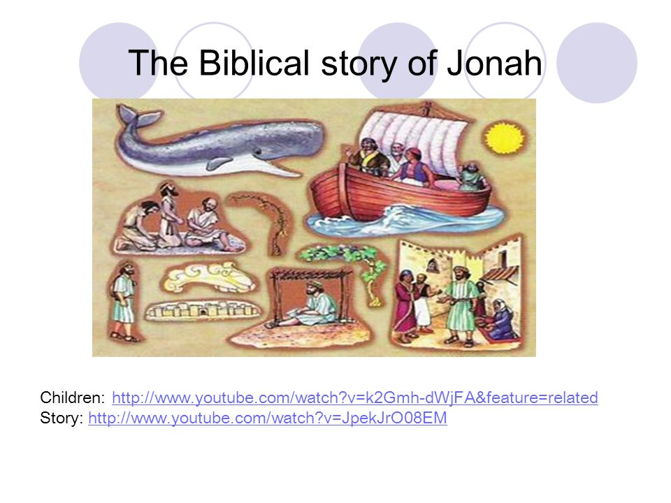 The Biblical story of Jonah