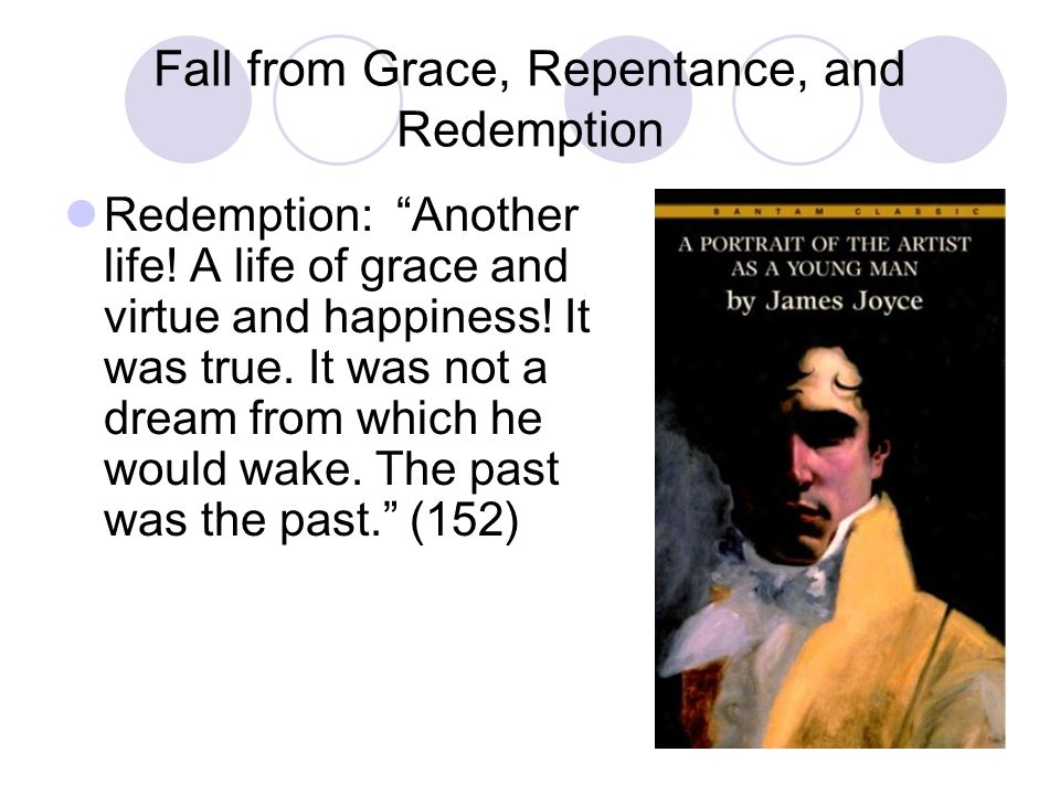 Fall from Grace, Repentance, and Redemption