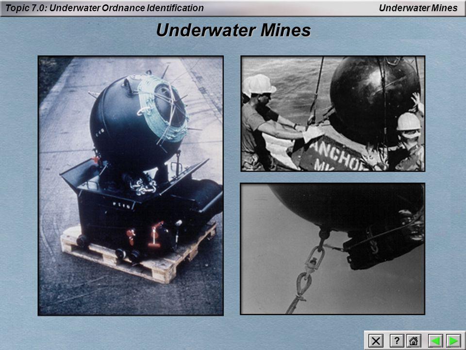 Underwater Mines Underwater Mines