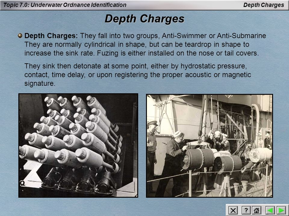 Depth Charges Depth Charges.
