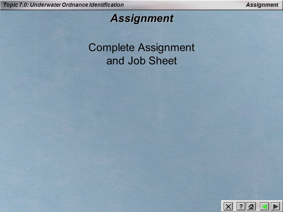 Complete Assignment and Job Sheet