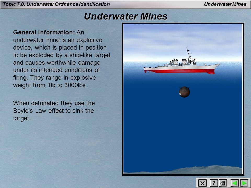 Underwater Mines Underwater Mines.