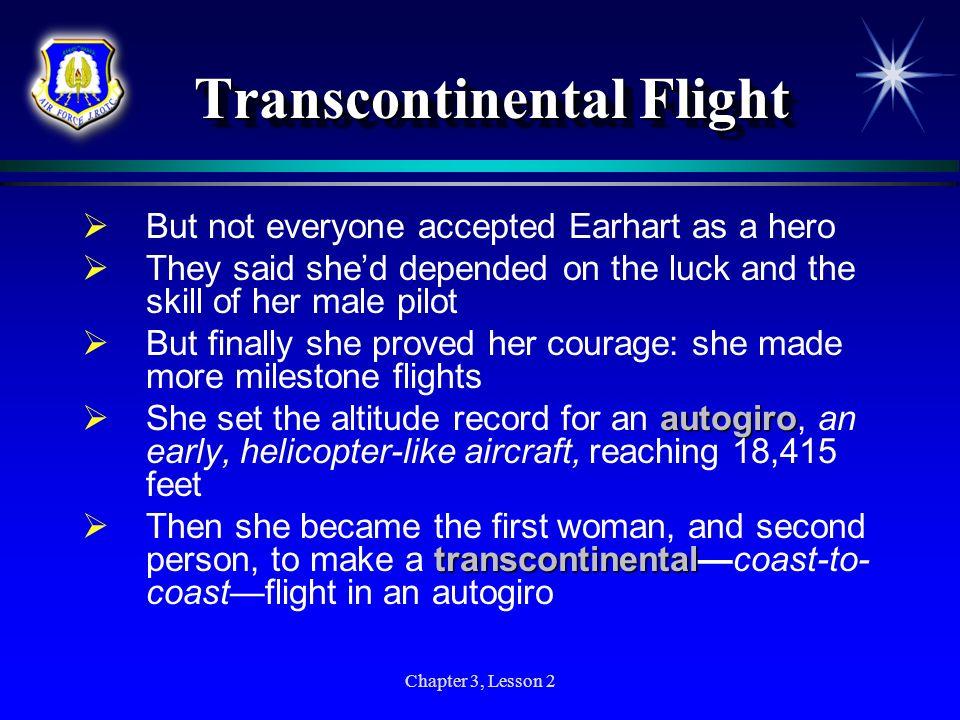 Transcontinental Flight